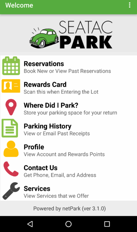 Seatacpark Has A Mobile App Seatac Airport Parking